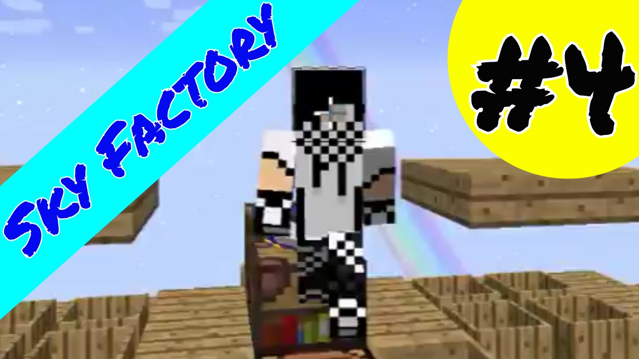 Minecraft: Sky Factory Ep 4 - Porcelain Clay