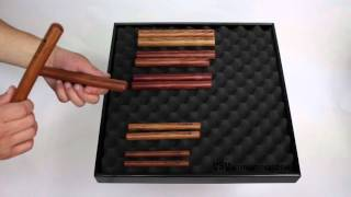 Claves Rosewood 195X20mm video