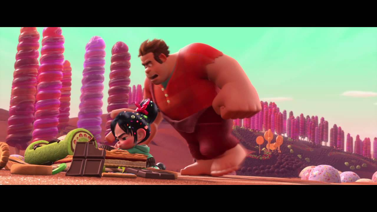 WreckIt Ralph Ralphs Medal Clip  YouTube