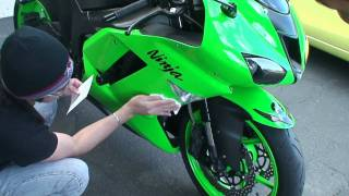 Changing the Oil & Filter of a Motorcycle - Yamaha R6 - Kawasaki Ninja ZX6R