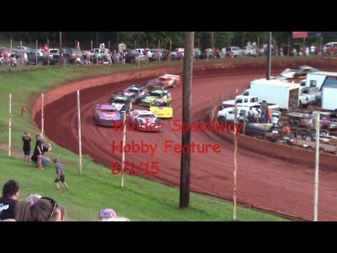Winder Barrow Speedway Hobby Feature Race 8/1/15