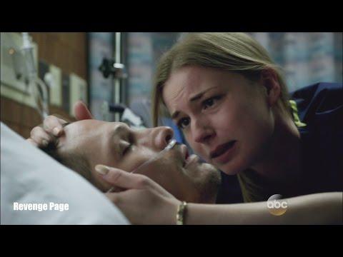 "Revenge 4x23  Emily and Jack Hospital Scene ""Two Graves""  Series Finale"