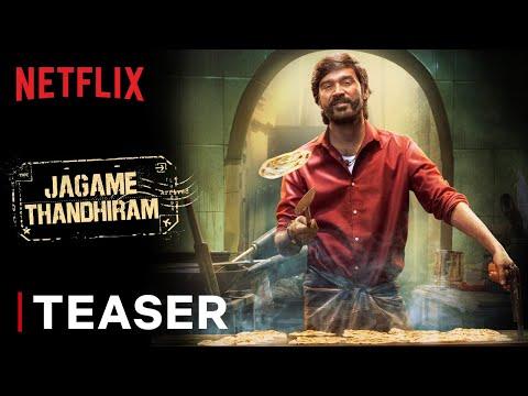 Jagame Thandhiram | Teaser | Dhanush, Aishwarya Lekshmi | Karthik Subbaraj | Netflix | Watch Online