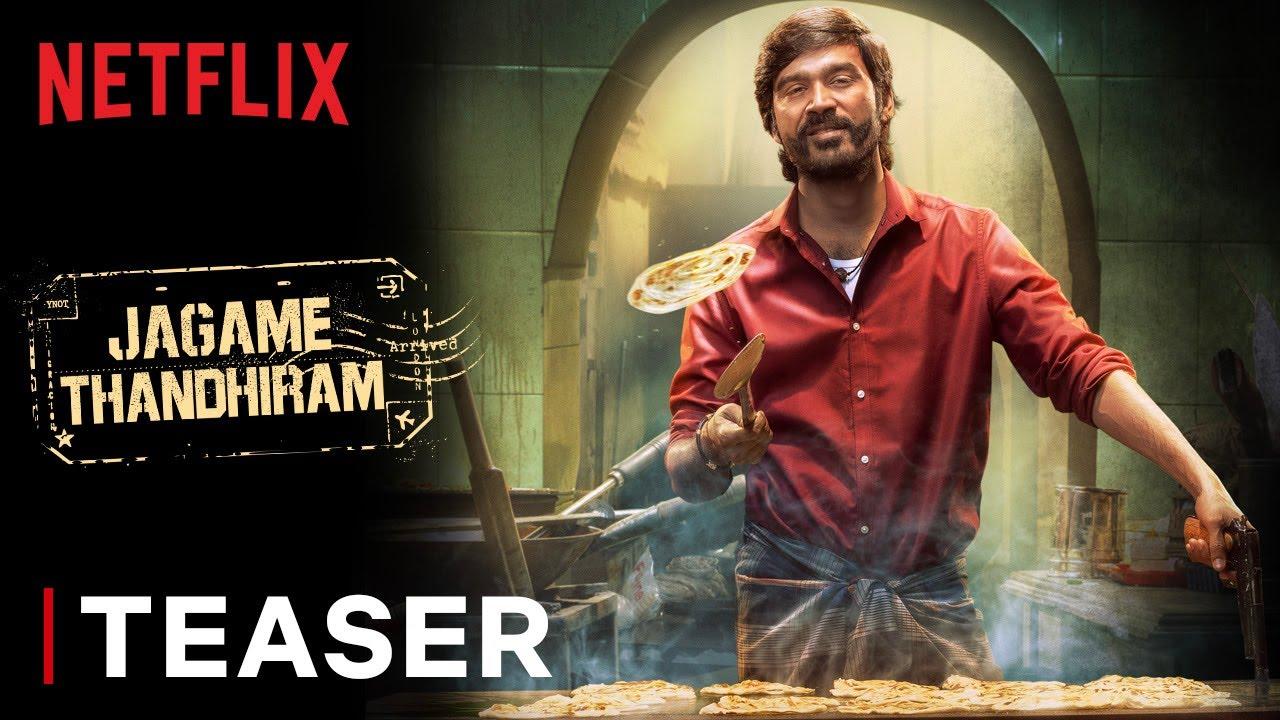 Download Jagame Thandhiram   Teaser   Dhanush, Aishwarya Lekshmi   Karthik Subbaraj   Netflix India
