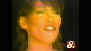 Whitney Houston WAITING TO EXHALE reports and interviews 1995