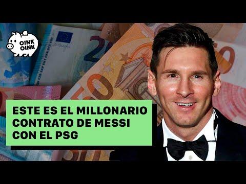 ¿Cuál será el sueldo de Messi en el PSG?