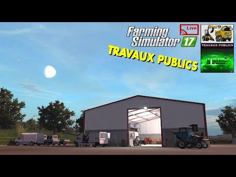 Farming Simulator 17 Travaux Publics ~ Multiplayer #1