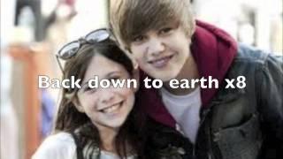 Justin Bieber down to earth karaoke with lyrics