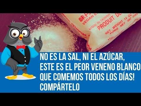 No Es La Sal, Ni El Azúcar, ESTE Es El Peor Veneno Blanco Que Comemos Todos Los Días! Compártelo.