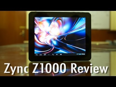 Zync Z1000 Tablet - Video Review