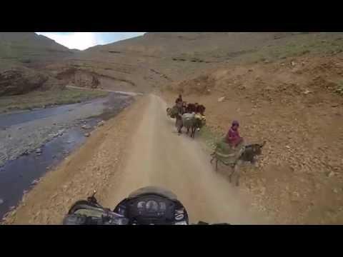 Motorcycle ride through Morocco