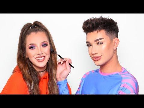 Doing Jenna Marbles' Makeup
