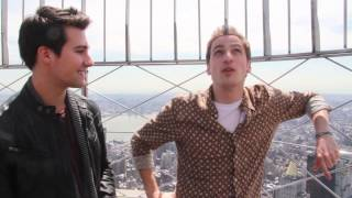 BTR in NYC: First Kisses