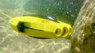 Chasing Dory: World's smallest and most affordable underwater drone