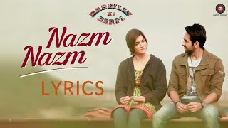 Download song Tu Nazm Nazm sa mere | Full Song | Lyrics | Bareilly Ki Barfi | Ayushmann Khurrana | Watch It Now