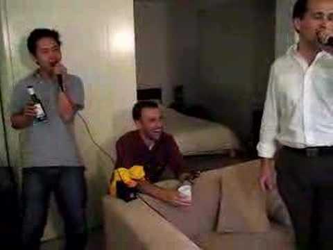 IRM Steamboat and karaoke: I Don't Feel Like Dancing