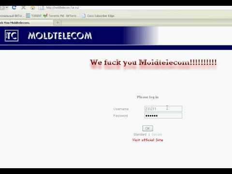 ВЗЛОМ МОЛДТЕЛЕКОМА!!! MOLDTELECOM FAR RU
