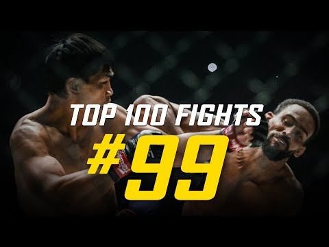 Eduard Folayang vs. Pieter Buist | ONE Championship's Top 100 Fights | #99