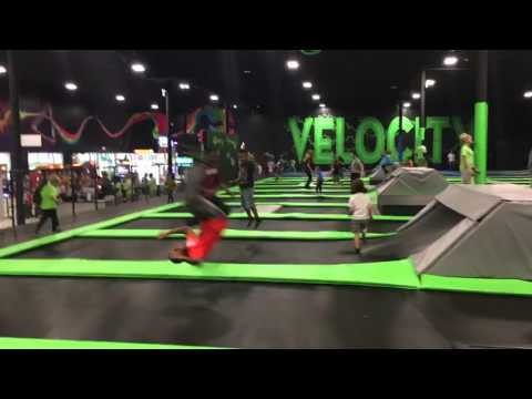 Jumping at the LARGEST Trampoline Park in Jacksonville, FL