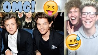 Harry & Louis — CRACK!VID #1 Reaction