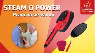 Novelista Acurrucarse alma  Steam o Power - Plancha de viaje vertical   Teletienda Directo - YouTube