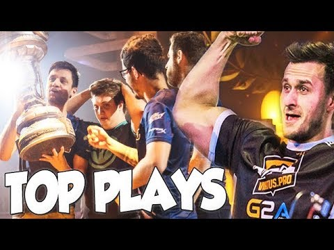 Top 10 Best Plays From Epicenter 2017! W/ Twitch Chat