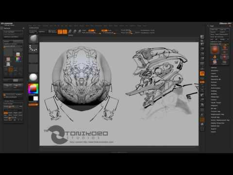 CGI 3D Tutorials : Zbrush Reference - Image Plane