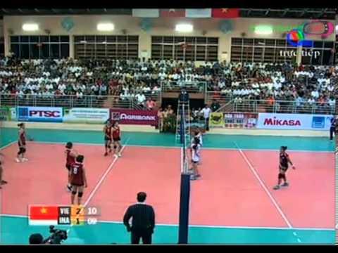 Việt Nam vs Indonesia Set 4 - 2014 FIVB Women WCH qualifi