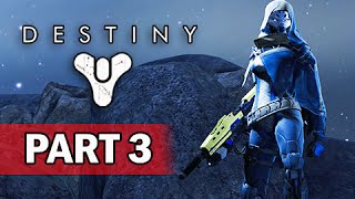 Destiny Walkthrough Part 3 - The Moon: The Dark Beyond (Let