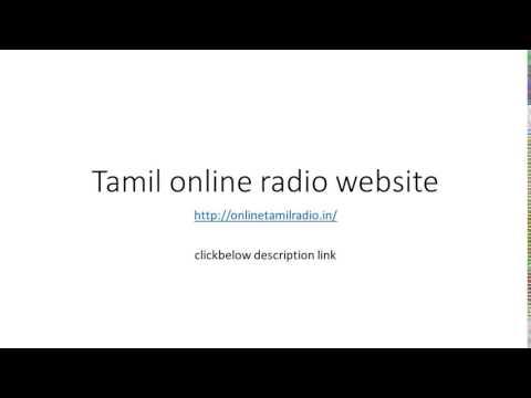 online tamil radio worldwide link