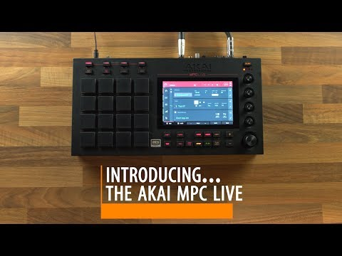 Akai MPC LIVE overview walkthrough