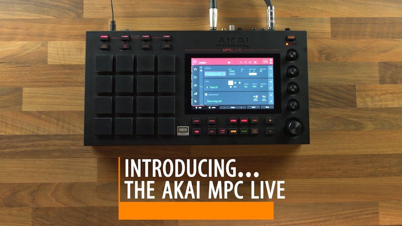 Akai MPC LIVE overview walkthrough