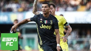 Cristiano Ronaldo Juventus debut vs. Chievo [Full Highlights] | ESPN FC