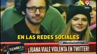 ¡Juana Viale violenta en Twitter!