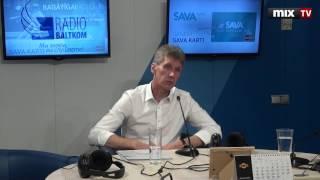 """Янис Турлайс в программе """"Разворот"""" #MIXTV"""