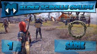 The Elder Scrolls Online Tamriel Unlimited #1 COOP - FANTÁSTICO! / SÉRIE 1080p 60fps PT-BR