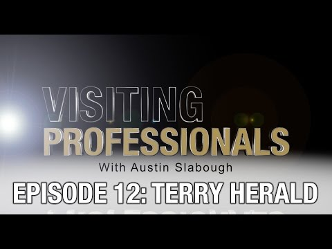 Visiting Professionals: Terry Herald (Music Composer, audio engineer)