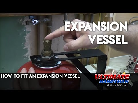 How to fit an expansion vessel