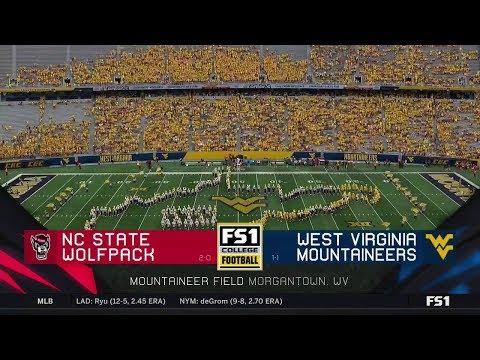 NCAAF 2019 09 14 North Carolina State At West Virginia 720p60