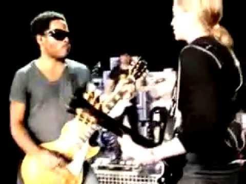 I Love New York Rehearsal Madonna & Lenny Kravitz - YouTube