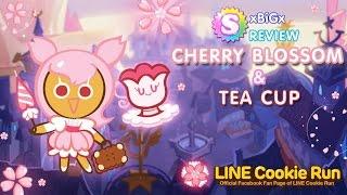 [Review] Cookie Run SS5 : CherryBlossom+TeaCup : ซากุระ+ถ้วยชาดำ [New Season]