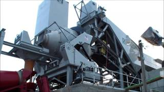 Mobile 5 Central Mix Concrete Batch Plant