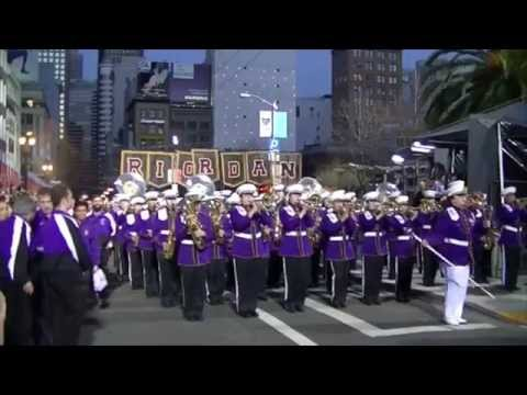 Archbishop Riordan High School Marching Band @ The 2015 San Francisco Chinese New Year Parade