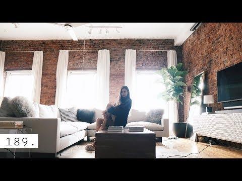 NYC LOFT LIVING ROOM DECOR UPDATE
