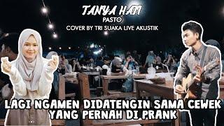 Gambar cover TANYA HATI - PASTO (LIRIK) LIVE AKUSTIK - PENDOPO LAWAS
