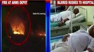 17 Killed in Major Fire at Maharashtras Biggest Arms Depot