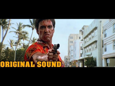 Scarface - Hotel Shootout (With Original 2.0 Stereo Track) (1080p)