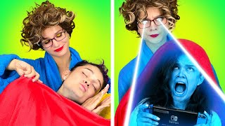 My Family VS Games | If My Parents Became Superheroes – by La La Life Games