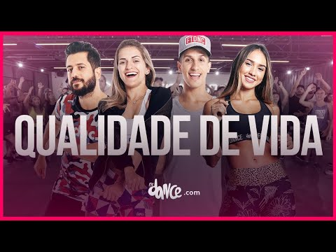 Qualidade De Vida - Simone & Simaria Ludmilla  FitDance TV Coreografia