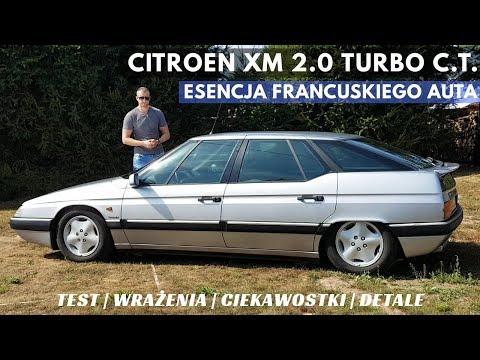 Citroen XM 2.0 Turbo C.T. - Po Prostu PRAWDZIWY Francuz. Jaki Jest?